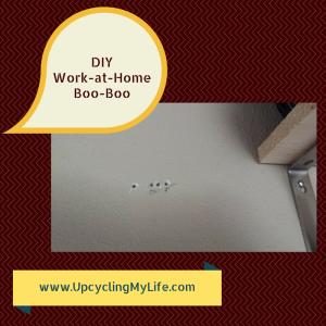 DIY Work-at-Home Boo-Boo
